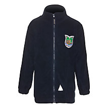 Buy Abbotswell Primary School Unisex Fleece, Navy Online at johnlewis.com