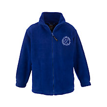 Buy Altrincham C Of E Aided Primary School Unisex Fleece, Blue Online at johnlewis.com
