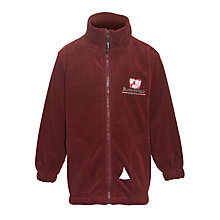 Buy Blossomfield Nursery and Infant School Unisex Fleece, Maroon Online at johnlewis.com
