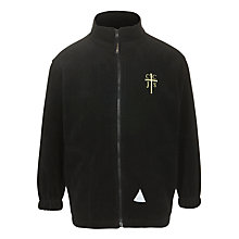 Buy Cheadle Catholic Infant & Junior School Unisex Fleece, Black Online at johnlewis.com