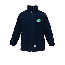Buy Long Meadow School Unisex Fleece, Navy Online at johnlewis.com