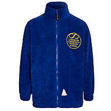 Buy Longmoor Community Primary School Unisex Fleece, Royal Blue Online at johnlewis.com