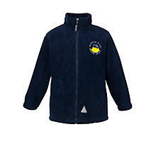 Buy Mapperley Plains Primary School Unisex Fleece, Navy Online at johnlewis.com