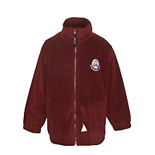Buy Skene Square School Unisex Fleece, Maroon Online at johnlewis.com