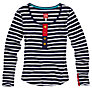 Buy Joules Tilly Stripe Top, Navy, 10 Online at johnlewis.com