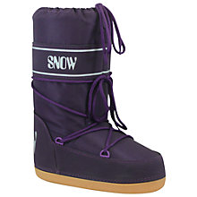 Buy Olang Manbi Space Snow Boots, Purple Online at johnlewis.com