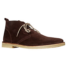 Buy KG by Kurt Geiger Berner Desert Boots Online at johnlewis.com
