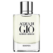 Buy Giorgio Armani Acqua di Giò Essenza Eau de Toilette Online at johnlewis.com