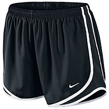 Buy Nike Tempo 9cm Shorts, Black/White Online at johnlewis.com