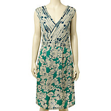 Buy White Stuff Flirtini Dress, Green Felt Online at johnlewis.com