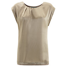 Buy Mint Velvet Silk T-Shirt Online at johnlewis.com