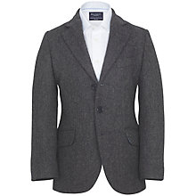 Buy Hackett London Herringbone Jacket, Grey Online at johnlewis.com