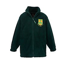 Buy Our Lady's Bishop Eton Primary School Unisex Fleece, Green Online at johnlewis.com