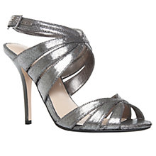 Buy Carvela Gail Satin Occasion High Heel Crossover Sandals Online at johnlewis.com