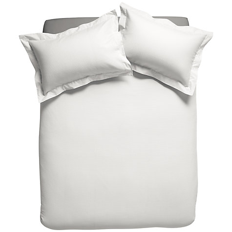 Buy House by John Lewis Waffle Bedding Online at johnlewis.com