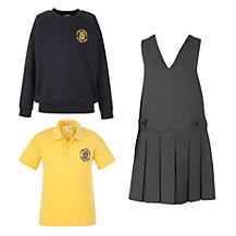 St Peter's Eaton Square C of E Primary School Girls' Foundation Uniform