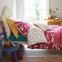 Buy Joules Piggy Farm Duvet Cover Online at johnlewis.com