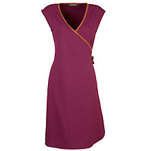 Buy Lauren by Ralph Lauren Wrap Top Dress, Aubergine Online at johnlewis.com
