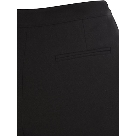 "Buy Viyella Wool Mix Trousers, L22"", Black Online at johnlewis.com"