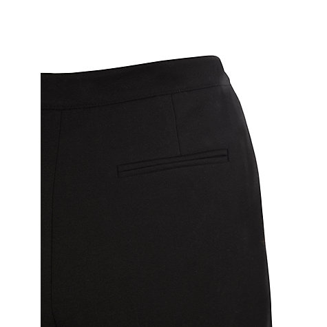 "Buy Viyella Wool Mix Trousers, L30"", Black Online at johnlewis.com"