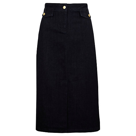 Buy Viyella Denim Skirt, Denim Blue Online at johnlewis.com