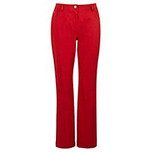 "Buy Viyella Smart Jeans, L30"", Red Online at johnlewis.com"