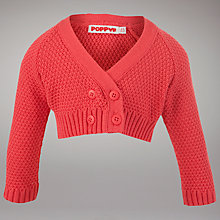 Buy Poppy Bolero Cardigan, Red Online at johnlewis.com