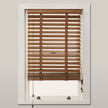 Buy John Lewis FSC Wooden Venetian Blinds, 50mm Online at johnlewis.com