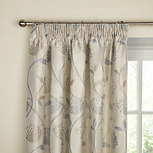 Buy John Lewis Verbena Lined Pencil Pleat Curtains Online at johnlewis.com