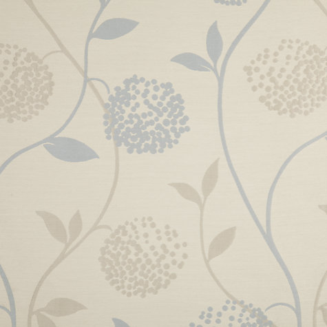 Buy John Lewis Verbena Lined Pencil Pleat Curtains, Mineral Online at johnlewis.com