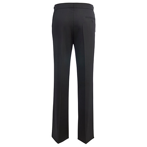 Buy Daniel Hechter Gleam Luxury Dress Suit Trousers, Black Online at johnlewis.com