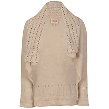Buy Avoca Anthology Murph Knitted Cardigan, Antique Cream Online at johnlewis.com