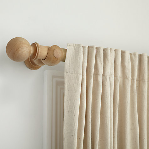 Buy John Lewis Unfinished Curtain Pole Kits, Dia.35mm Online at johnlewis.com