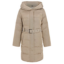 Buy Four Seasons Quilted Coat, Taupe Online at johnlewis.com