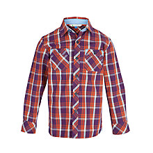 Buy John Lewis Boy Large Checked Shirt Online at johnlewis.com