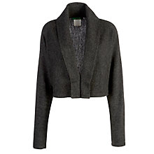 Buy Lauren by Ralph Lauren Cropped Boxy Cardigan, Grey Multi Online at johnlewis.com
