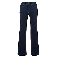 "Buy Salsa Secret High Rise Bootcut Jeans, L30"", Bright Indigo Online at johnlewis.com"