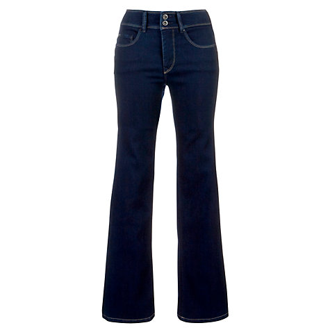 "Buy Salsa Secret High Rise Bootcut Jeans, L32"", Bright Indigo Online at johnlewis.com"