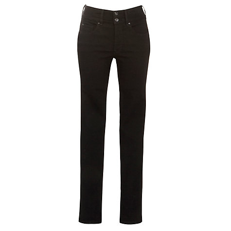"Buy Salsa Secret Push-In Slim Leg Jeans, L30"", Black Online at johnlewis.com"