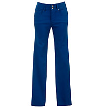"Buy Salsa Secret Push-In Slim Leg Jeans, L32"", Teal Online at johnlewis.com"