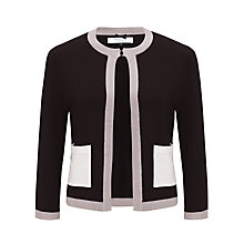 Buy COLLECTION by John Lewis Edge-To-Edge Contrast Cardigan Online at johnlewis.com