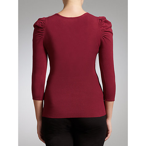 Buy COLLECTION by John Lewis Ruched Shoulder Jumper Online at johnlewis.com