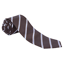 Buy John Lewis Textured Stripe Tie Online at johnlewis.com
