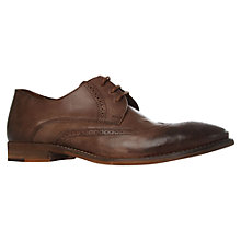 Buy KG by Kurt Geiger Cassano Leather Brogue Shoes Online at johnlewis.com