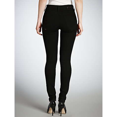 "Buy Salsa Secret Push-In Skinny Jeans, L32"", Black Online at johnlewis.com"