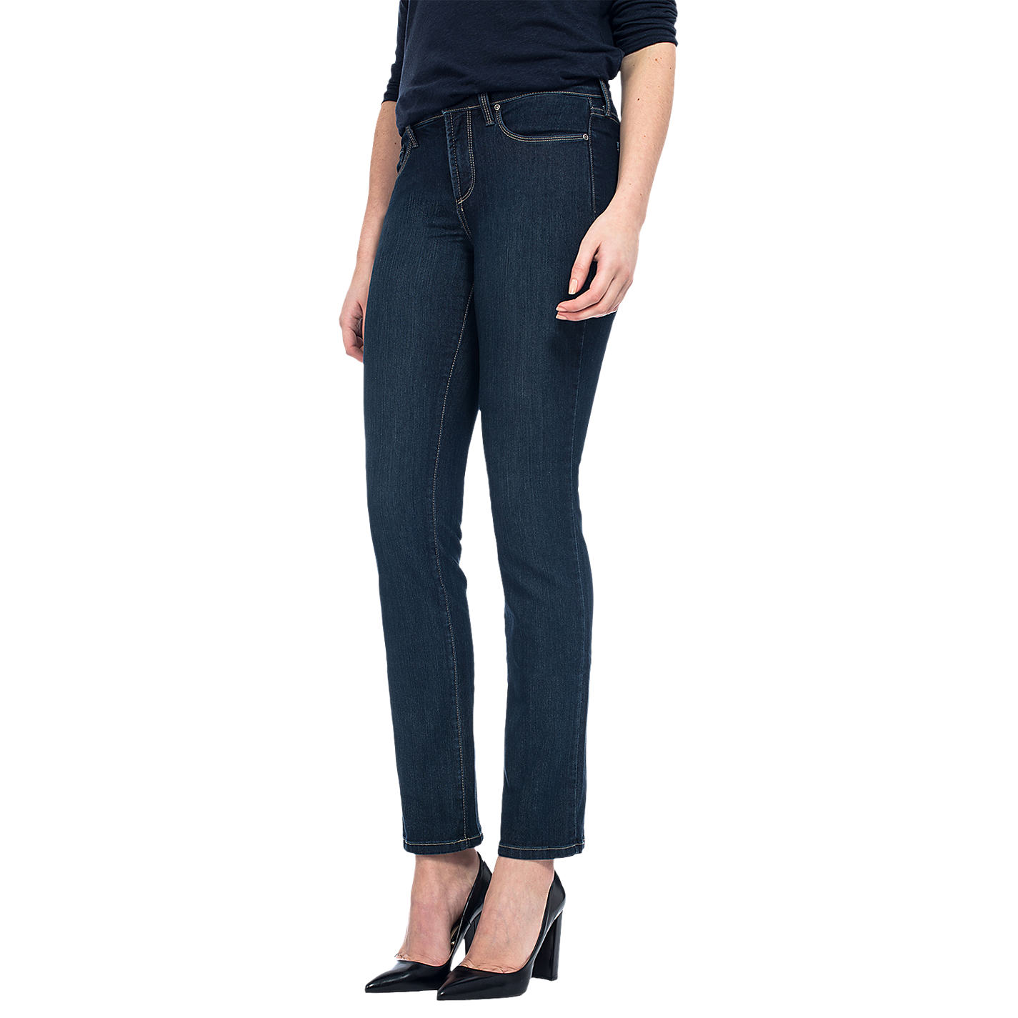 Buy NYDJ Sheri Skinny Jeans Indigo | John Lewis