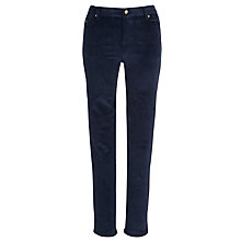 Buy By Zoé Riri Skinny Cord Trousers, Marine Online at johnlewis.com