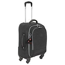 Buy Kipling Yubin 4-Wheel Small Spinner Suitcase, Black Online at johnlewis.com