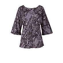 Buy Ghost Suki Top, Snake Print Online at johnlewis.com