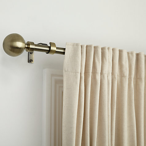 Buy John Lewis Steel Extendable Curtain Pole Kits, Dia.16/19mm Online at johnlewis.com